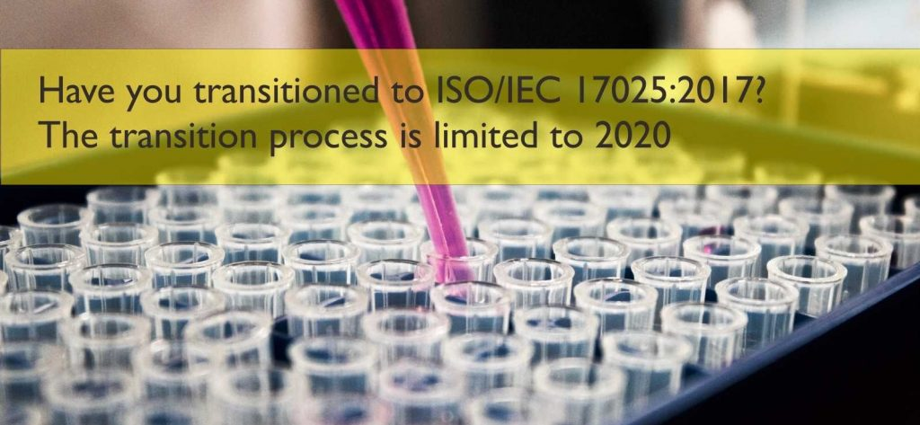 Transition ISO 17025
