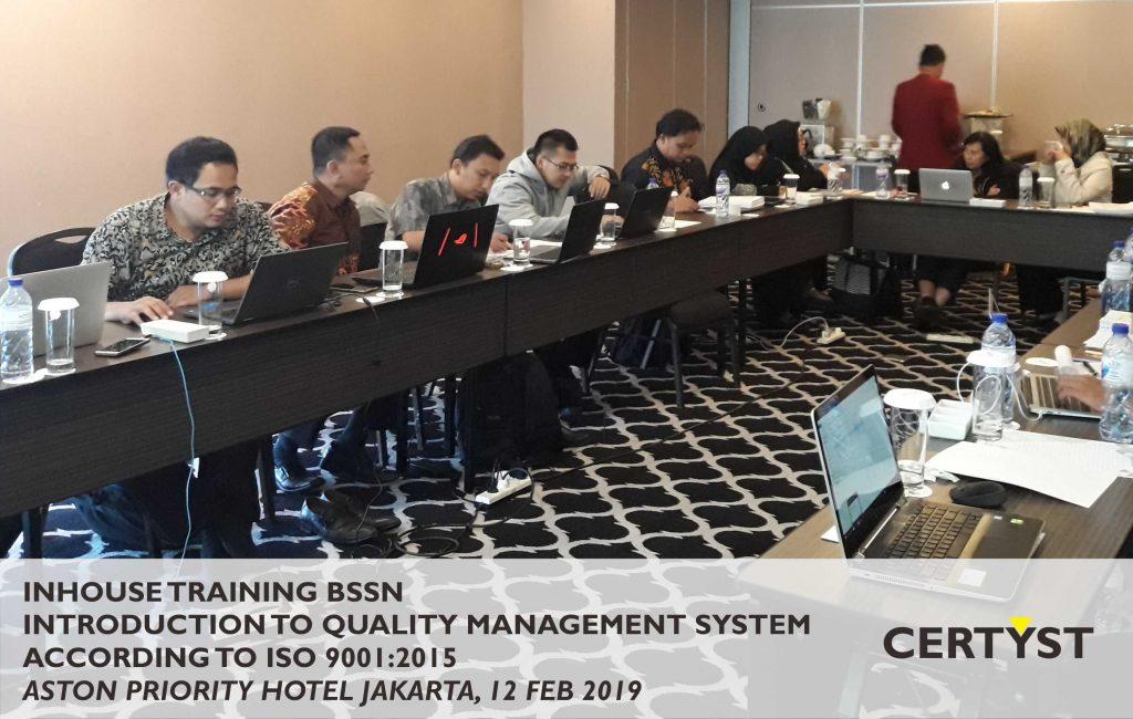 ISO 9001 BSSN
